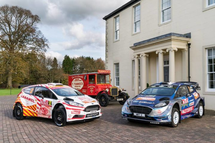 M-SPORT TEAM UP WITH TUNNOCK'S FOR WALES RALLY GB