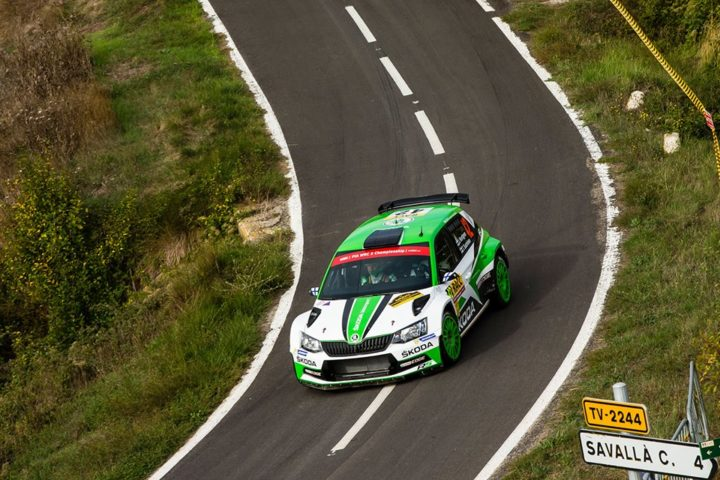 WRC SPAIN: KOPECKÝ FASTEST ON TARMAC, STORMS TO SECOND IN WRC2 – YOUNGSTER NORDGREN FOURTH