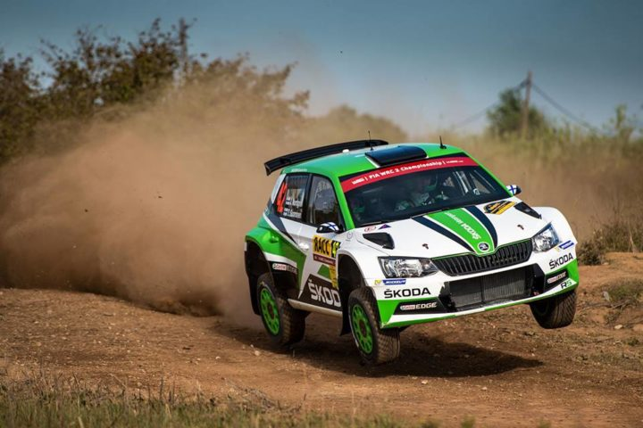WRC SPAIN: CHALLENGING FIRST DAY FOR ŠKODA JAN KOPECKÝ THIRD AND JUUSO NORDGREN FIFTH