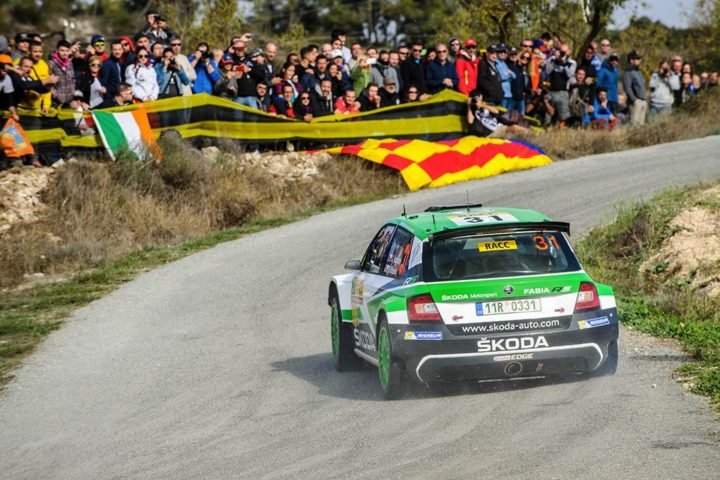WRC SPAIN: ŠKODA TEAMS WITH TROUBLE FREE RUN KOPECKÝ SECOND AND NORDGREN FOURTH IN WRC 2