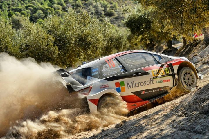 TOYOTA GAZOO RACING LOOKS AHEAD AFTER A TOUGH DAY ON GRAVEL