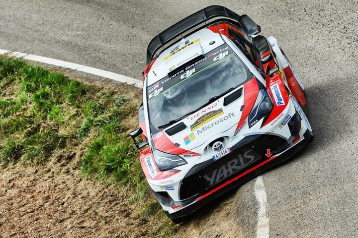 THE YARIS WRC SHOWS ITS SEALED-SURFACE SPEED IN SPAIN