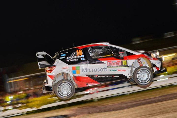 YARIS WRC TRIO EMBARK ON WELSH ADVENTURE