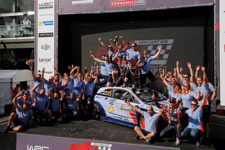 HYUNDAI MOTORSPORT WRAPS UP 2017 WITH RALLY AUSTRALIA WIN AND DOUBLE PODIUM