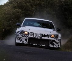 SUCCESSFUL FIRST TEST OUTING FOR THE VOLKSWAGEN POLO GTI R5