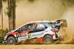 TOYOTA YARIS WRC DRIVERS SHOW THEIR SPEED ON FIRST DAY OF RALLY AUSTRALIA