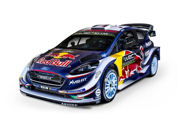 FIA WORLD RALLY CHAMPIONSHIP / SHINY NEW WRC CAR LIVERY