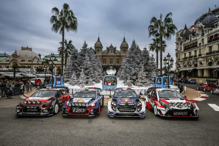 2018 WORLD RALLY CHAMPIONSHIP TO LAUNCH AT AUTOSPORT INTERNATIONAL