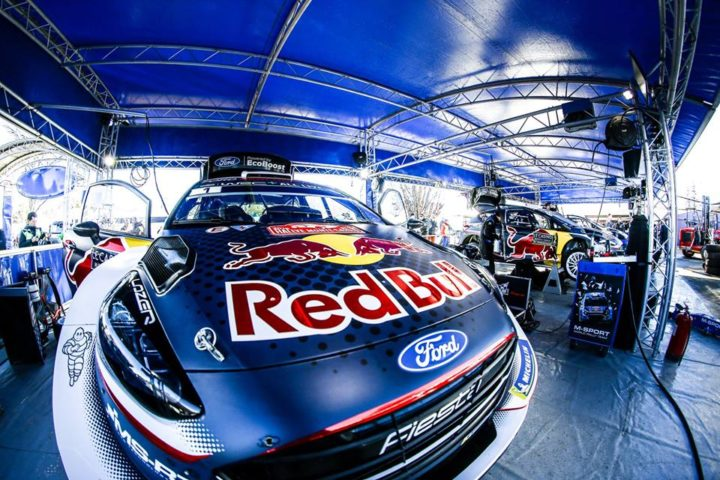 OGIER LEADS ON HOME SOIL AT RALLYE MONTE-CARLO