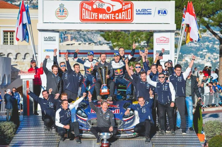 OGIER WINS IN MONTE AS M-SPORT FORD LEAD THE WAY