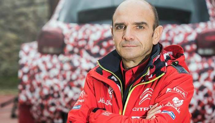 PIERRE BUDAR, APPOINTED DIRECTOR OF CITROËN RACING