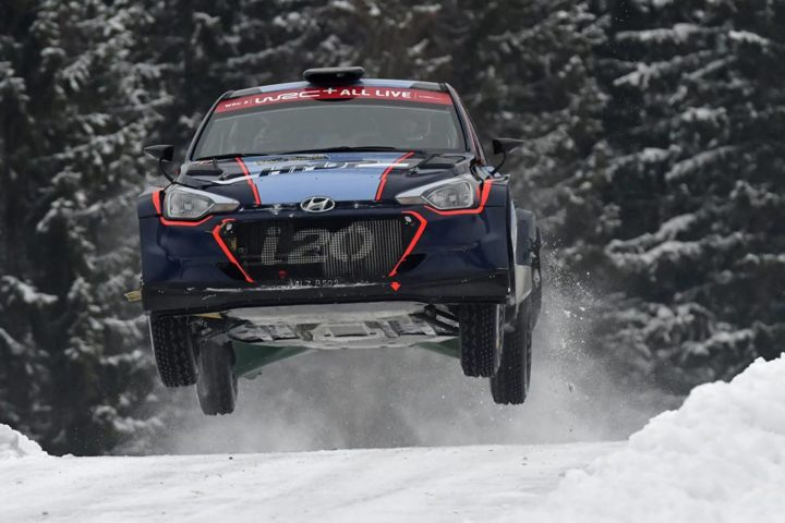 HMDP CREW JARI HUTTUNEN FINISHED SIXTH IN WRC2 IN RALLY SWEDEN
