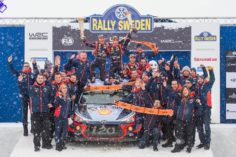 HYUNDAI MOTORSPORT HAS SECURED ITS MAIDEN WIN OF THE WRC WITH A CONFIDENT VICTORY IN RALLY SWEDEN
