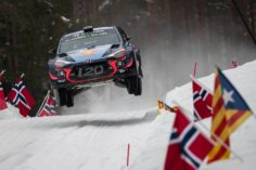 HYUNDAI MOTORSPORT HAS ENDED THE FIRST DAY OF ACTION AT RALLY SWEDEN