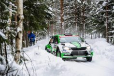 RALLY SWEDEN: ŠKODA MOTORSPORT'S TIDEMAND AND VEIBY BOTH ON PODIUM AFTER THRILLING BATTLE