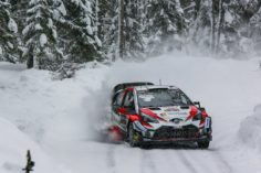 THE YARIS WRC SHOWS ITS POTENTIAL ON SWEDISH SNOW