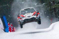 EARLY PROMISE FOR TOYOTA HAMPERED BY TOUGH CONDITIONS