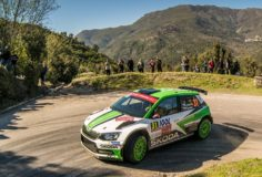 CZECH CHAMPION KOPECKÝ AND ŠKODA MOTORSPORT LEAD WRC 2 AT RALLY FRANCE – TEAMMATE VEIBY THIRD
