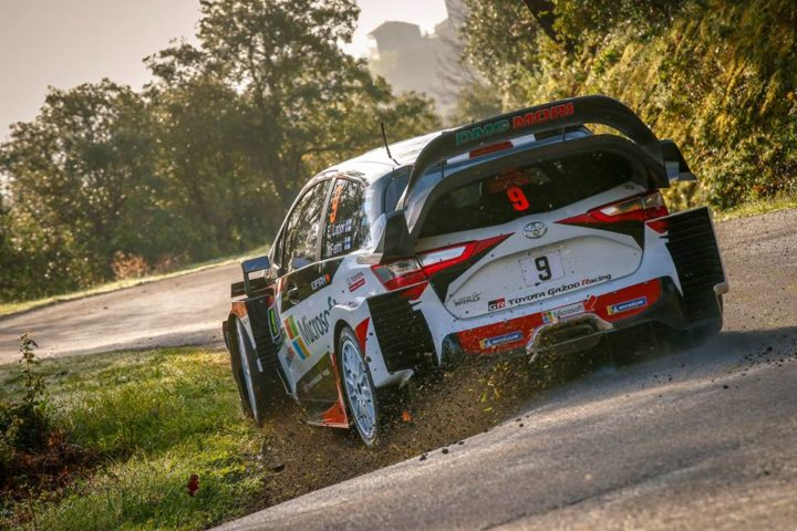 TOYOTA DRIVERS BUILDING THEIR SPEED IN CORSICA