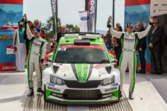 JAN KOPECKÝ AND ŠKODA WITH DOMINANT WRC 2 WIN AT RALLY FRANCE/TOUR DE CORSE