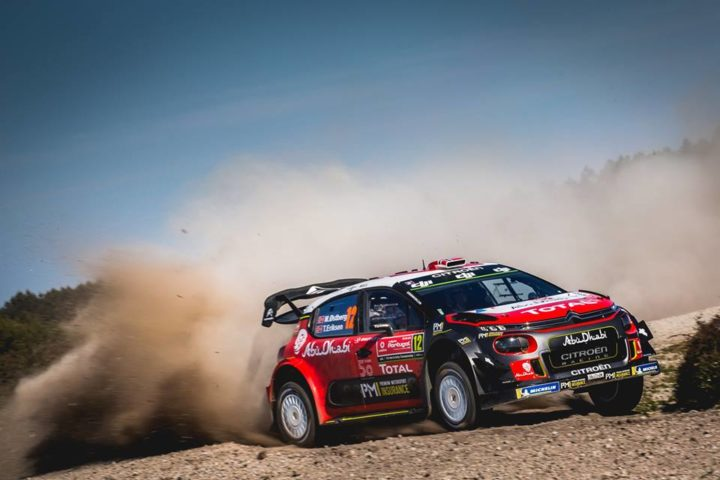 CITROËN TOTAL ABU DHABI WRT JUST OUTSIDE TOP FIVE