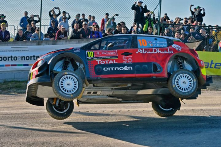 AN ENLIGHTENING SHAKEDOWN FOR CITROËN TOTAL ABU DHABI WRT