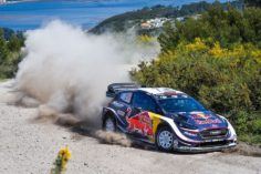 EVANS BACK IN BUSINESS IN PORTUGAL PODIUM POSITION