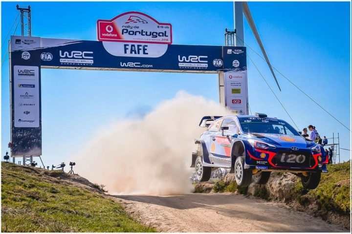 THIERRY NEUVILLE, VERY FAST WINNER IN PORTUGAL WITH HYUNDAI MOTORSPORT