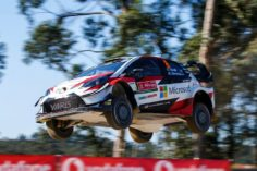 TOYOTA TAKES AN EARLY LEAD IN PORTUGAL