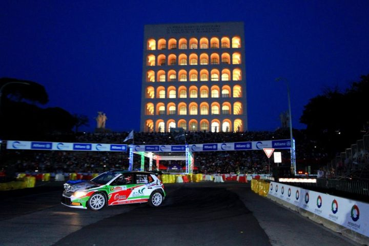 THE 6th RALLY DI ROMA CAPITALE WILL START WITH THE SPECTACULAR STAGE ACI ROMA ARENA