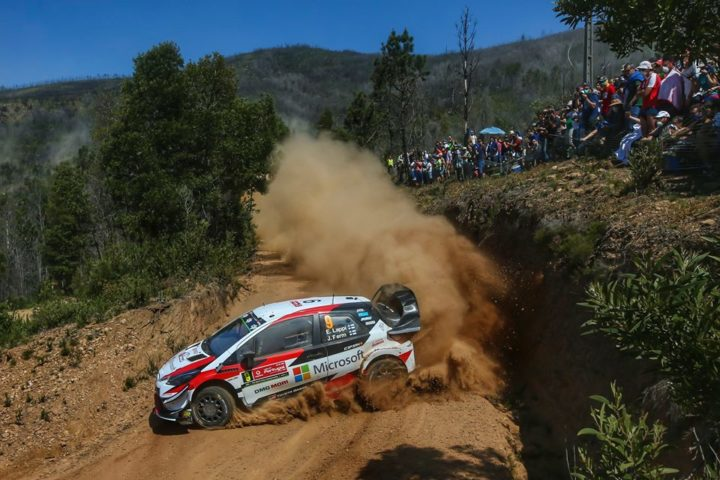 LAPPI , TÄNAK AND LATVALA PUSH ON IN PORTUGAL