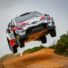 TOYOTA IN THE LEAD BATTLE WITH LATVALA IN SLIPPERY CONDITIONS