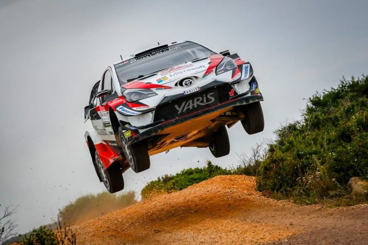 SARDINIAN ADVENTURE UNDERWAY FOR TOYOTA GAZOO RACING