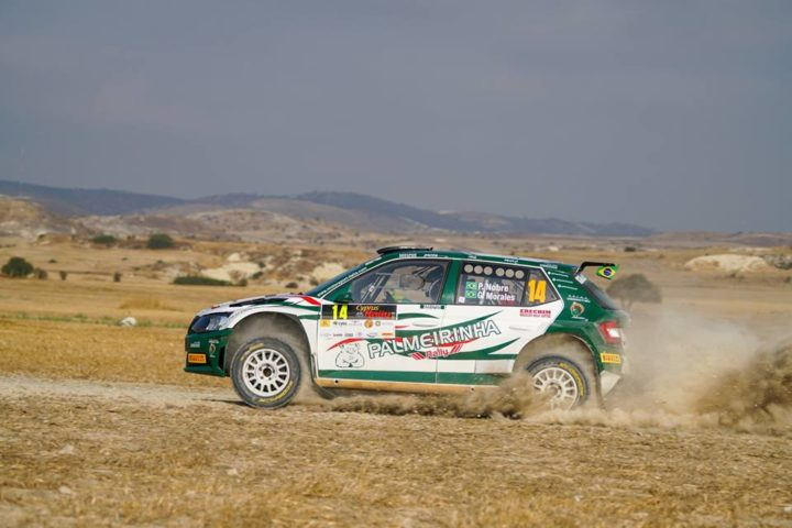 THE BRAZILIAN PAULO NOBRE ON RACE AGAIN. NOW HE'S RUNNING THE CYPRUS' RALLY BY MOTORSPORT'S ITALY SKODA FABIA R5. HIS TARGET IS TO CONFIRM THE GOOD RESULT KEEPED ON GREECE'S GRAVELS FIFTEEN YEARS AGO