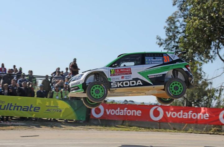 RALLY ITALIA SARDEGNA: ŠKODA DRIVERS KOPECKÝ AND VEIBY FIGHTING FOR WRC 2 VICTORY ON THE MEDITERRANEAN ISLAND