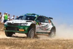 AFTER THE RESULT OF GREECE, ANOTHER ARRIVAL FOR THE BRAZILIAN PAULO NOBRE IN RACE WITH A ŠKODA FABIA OF MOTORSPORT ITALIA. IN COUPLE WITH GABRIEL MORALES HAS ENDED THE RIGBY RALLY OF CYPRUS, EVEN THIS VALID FOR THE EUROPEAN