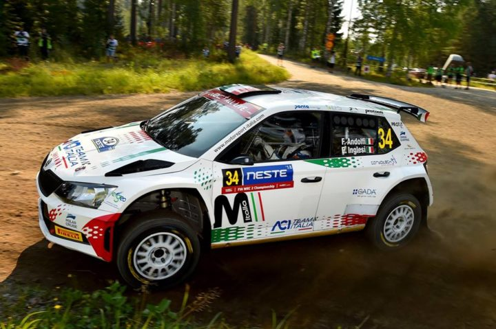 ANDOLFI TOPS FINLAND WARM-UP