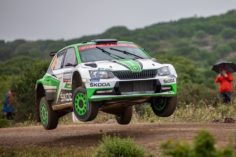 NESTE RALLY FINLAND: ALL EYES ON ŠKODA JUNIORS OLE CHRISTIAN VEIBY AND KALLE ROVANPERÄ