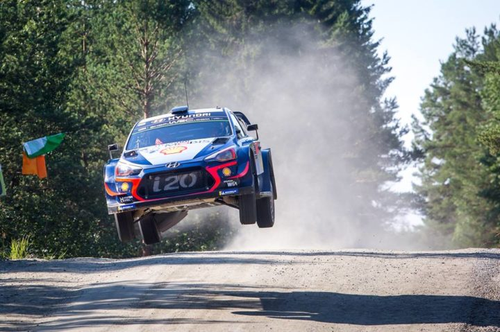 HYUNDAI MOTORSPORT – NESTE RALLY FINLAND – DAY THREE