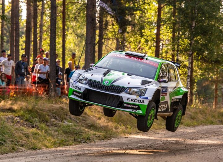 NESTE RALLY FINLAND: ŠKODA PRIVATEER EERIK PIETARINEN LEADS WRC 2 CATEGORY STANDINGS