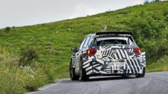 ERIC CAMILLI AT THE WHEEL OF THE POLO GTI R5 FOR RALLY DEBUT