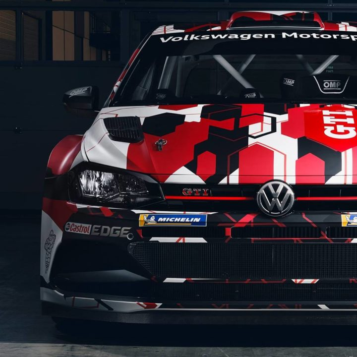 VOLKSWAGEN PRESENTS LIVERY OF THE POLO GTI R5