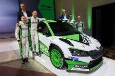 ŠKODA DEFENDS WRC 2 TITLE AGAIN
