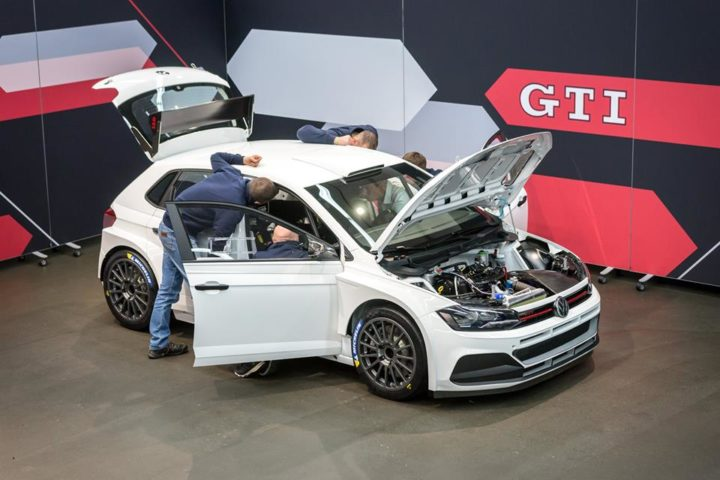 FIRST DELIVERY OF THE POLO GTI R5 FOR CUSTOMER SPORT