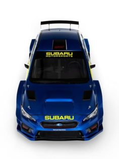SUBARU🇯🇵REVEALS ALL-NEW BLUE AND GOLD RACING LIVERY AND NEW MOTORSPORTS BRANDING