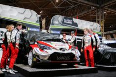TOYOTA🇯🇵GAZOO RACING WORLD RALLY TEAM LAUNCHES 2019 CHALLENGE AT THE AUTOSPORT INTERNATIONAL SHOW🇬🇧