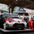 FIA WORLD RALLY CHAMPIONSHIP (WRC2-2015): MINI EUROLAMP WORLD RALLY TEAM- RALLY DE PORTUGAL- THE CREW AT THE FINISH. BUT THE RACE HAD NOT OBEYED