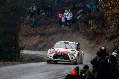 FIA WORLD RALLY CHAMPIONSHIP 2015: CITROËN TOTAL ABU DHABI WORLD RALLY TEAM-THE DS 3 WRCs RACK UP MOST STAGE WINS AT RALLYE MONTE-CARLO