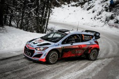 FIA WORLD RALLY CHAMPIONSHIP 2015: HYUNDAI SHELL WORLD RALLY TEAM-CONTINUES MONTE CARLO LEARNING CURVE WITH TWO CARS IN TOP EIGHT