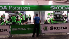 FIA WORLD RALLY CHAMPIONSHIP (WRC2-2015): ŠKODA MOTORSPORT- ŠKODA DUOS ON TRACK TO FINISH ON THE PODIUM IN THE FABIA R 5 AT THE RALLY DE PORTUGAL
